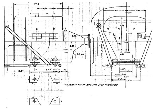 Qtalk 27 ROTAX INSTALLATION CONSIDERATIONS – Rotax 503 Engine Diagram