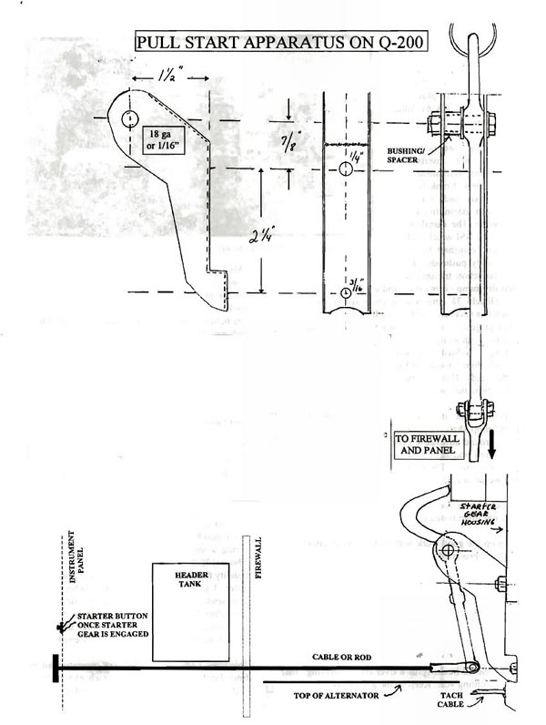 This Pull Start Apparatus Should Be Made Out Of Cardboard And Tried On The Engine To Sure Proper Clearance Travel: Revmaster Engine Wiring Diagram At Ultimateadsites.com
